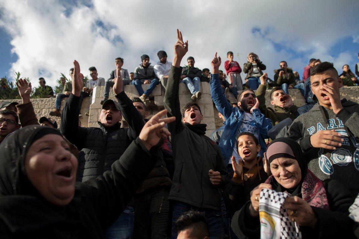 Palestinian Attitudes Toward Israel
